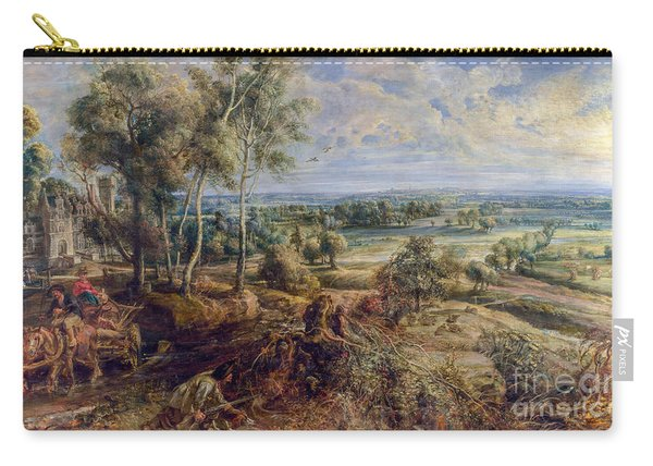 An Autumn Landscape With A View Of Het Steen Carry-all Pouch