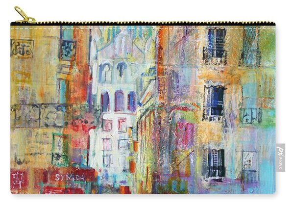 An Evening Walk To Sacre Coeur Carry-all Pouch