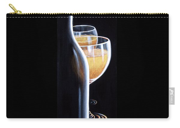 Carry-all Pouch featuring the painting An Indecent Proposal by Sandi Whetzel