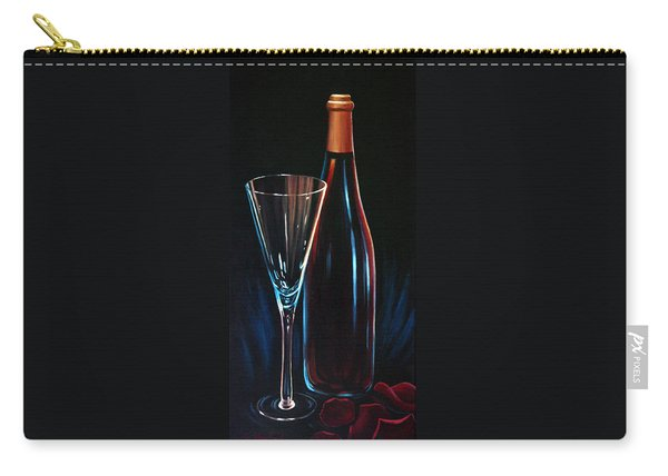 Carry-all Pouch featuring the painting An Invitation To Romance by Sandi Whetzel