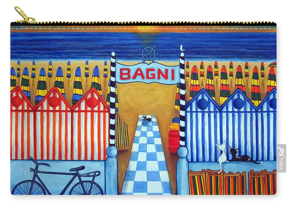 An Italian Summer's End Carry-all Pouch