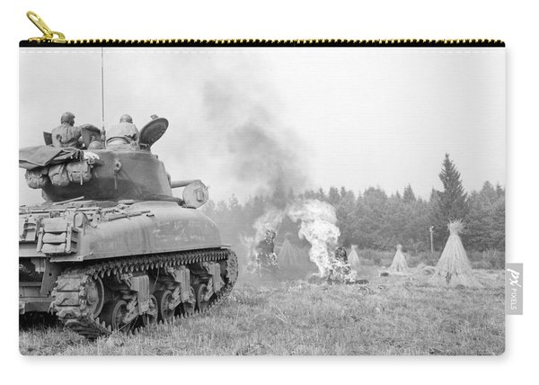 An M4a3e8 76mm Armed Sherman Tank Carry-all Pouch