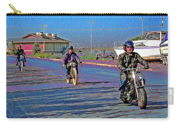 An October 2013 Motor Bike Rally Carry-all Pouch