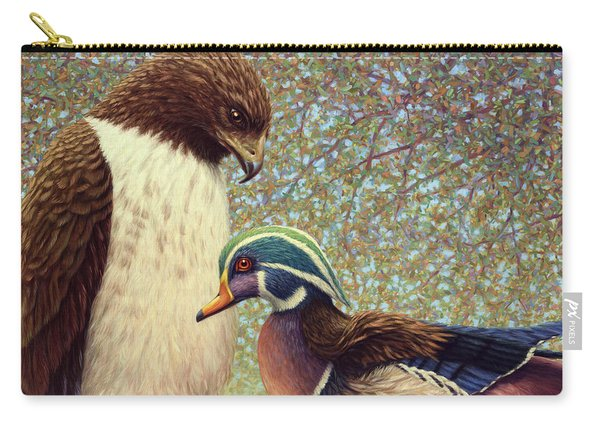 An Odd Couple Carry-all Pouch