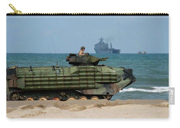 An U.s. Marine Corps Amphibious Assault Carry-all Pouch