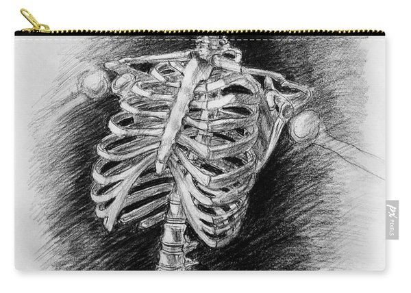 Anatomy Study Mister Skeleton Carry-all Pouch