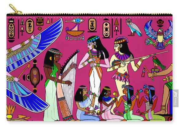 Ancient Egypt Splendor Carry-all Pouch