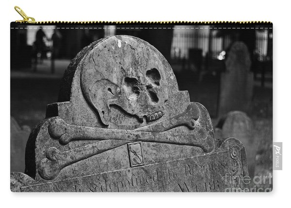 Ancient Gravestone Carry-all Pouch