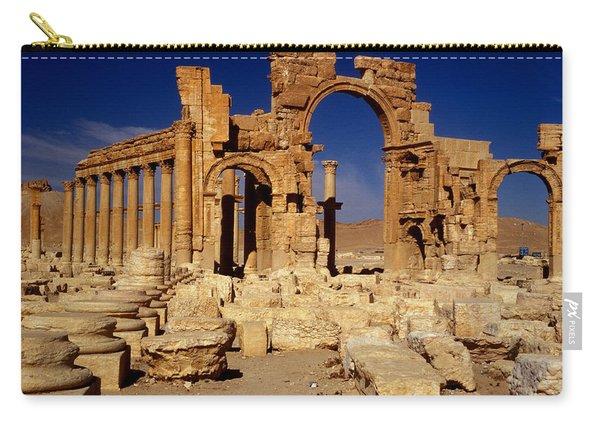 Ancient Roman City Of Palmyra, Syria Photo Carry-all Pouch
