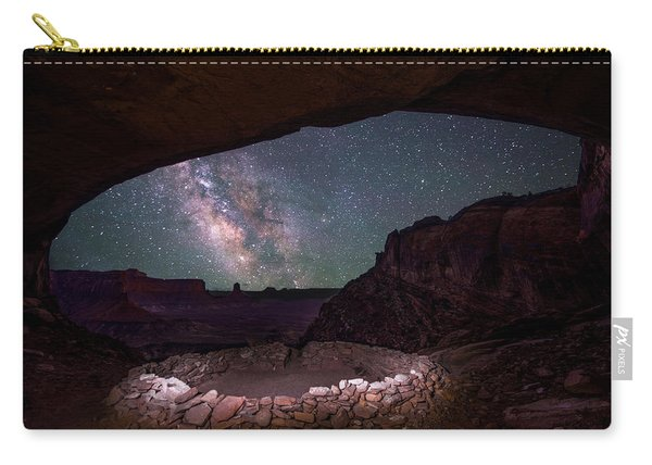 Carry-all Pouch featuring the photograph Ancient Skies by Dustin  LeFevre