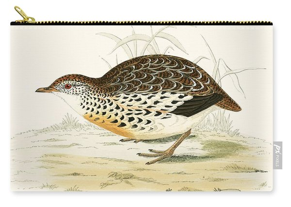 Andalusian Quail Carry-all Pouch
