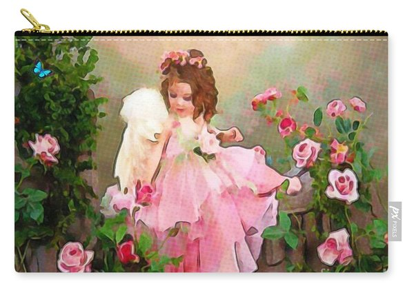 Angel And Baby  Carry-all Pouch