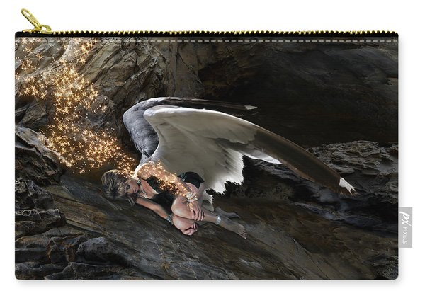 Angel- Give Your Worries To The Father Carry-all Pouch