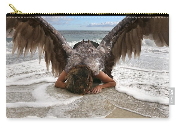 Angel- I Feel Your Sorrow  Carry-all Pouch