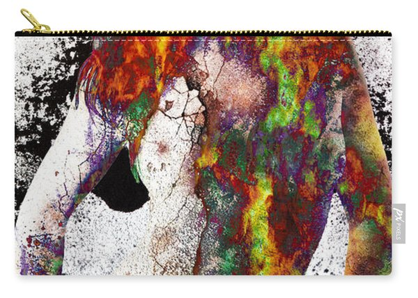 Angel Of Debris Carry-all Pouch