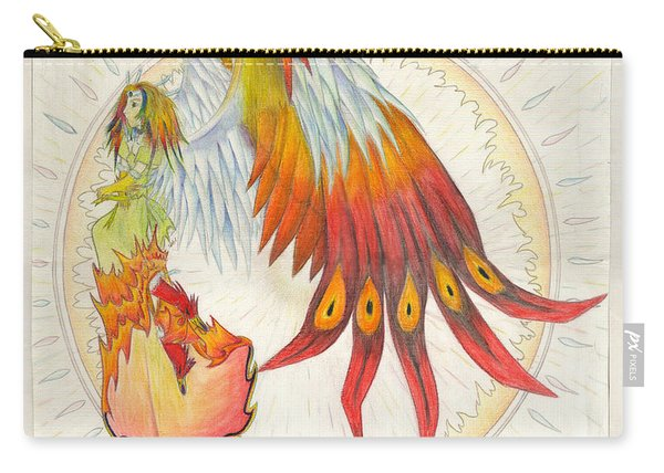 Angel Phoenix Carry-all Pouch