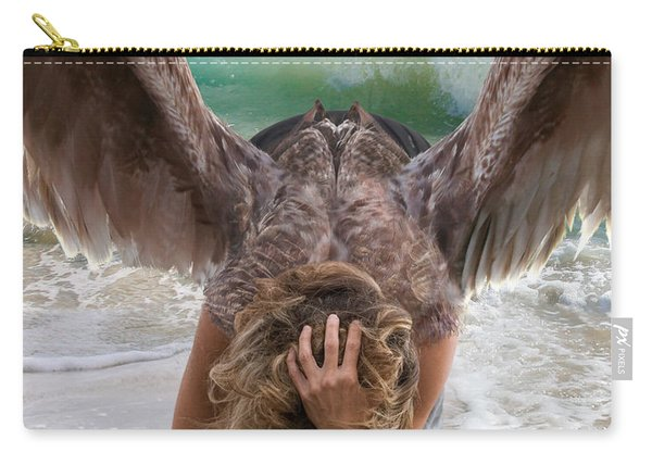 Angels- Be A Light To Those In Darkness Carry-all Pouch