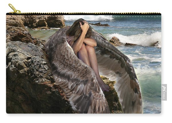 Angels- God Has Sent His Spirit To Comfort You And Heal You Carry-all Pouch
