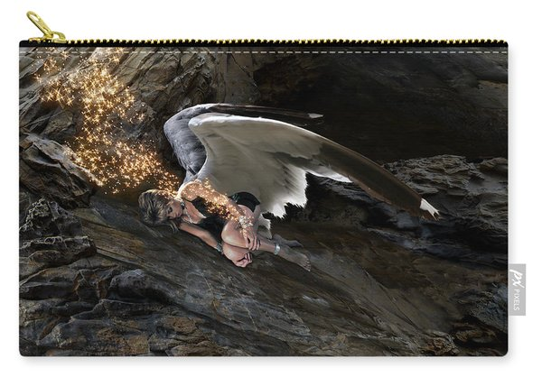 Angels- He Will Bring Peace To Your Heart Carry-all Pouch