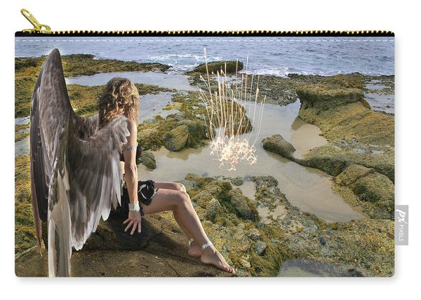Angels- His Spirit Will Comfort You Carry-all Pouch