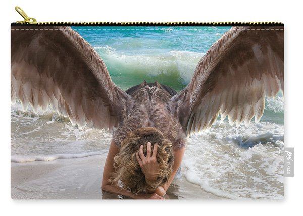 Angels- I Will Not Give Up On You Carry-all Pouch