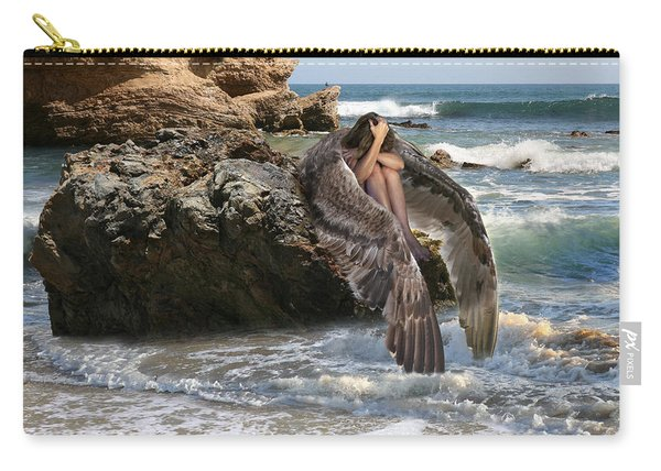 Angels- Shhh Stand Still And Be Quiet Carry-all Pouch