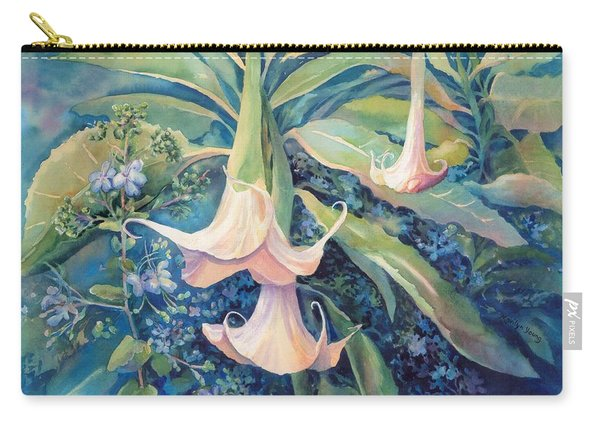 Angels Trumpets II Carry-all Pouch
