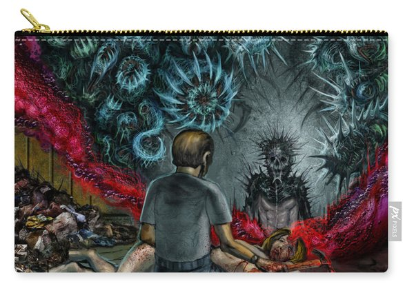 Anger Only Feeds The Monster Inside You Carry-all Pouch
