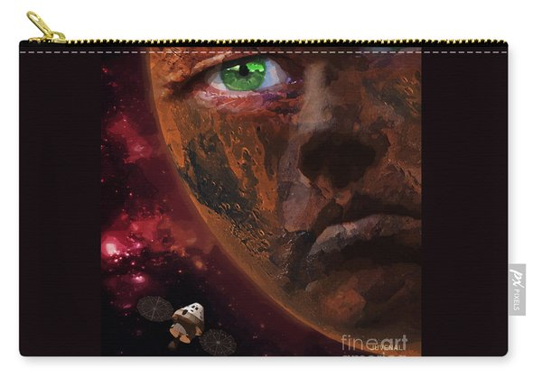 Angry Red Planet Full Carry-all Pouch