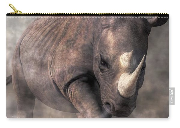 Angry Rhino Carry-all Pouch