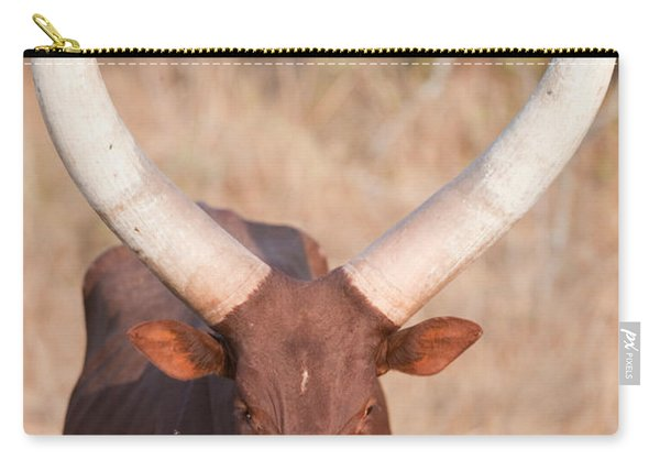 Ankole-watusi Cattle Standing Carry-all Pouch