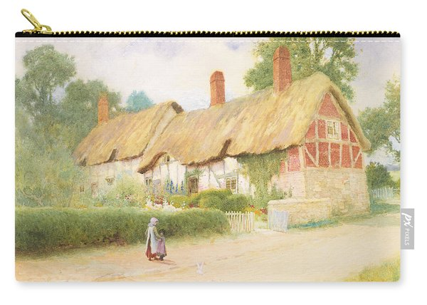 Ann Hathaway's Cottage Carry-all Pouch