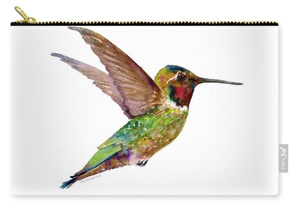 Anna Hummingbird Carry-all Pouch