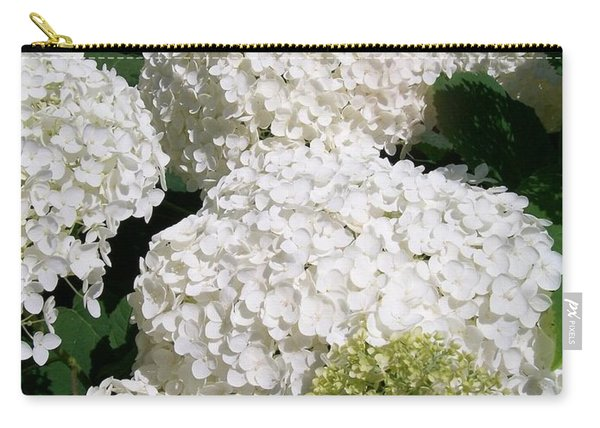 Annabelle Hydrangea  Carry-all Pouch