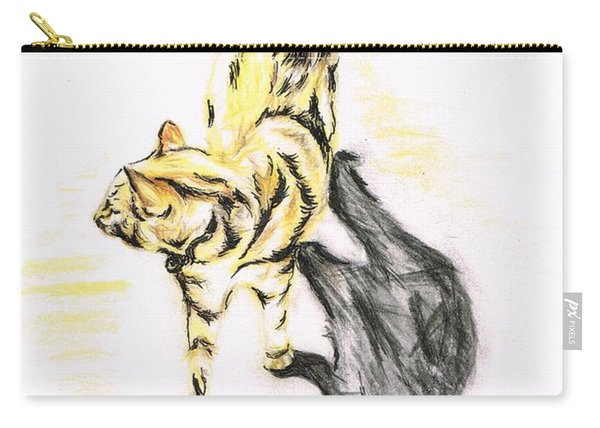 Another Cat Following Carry-all Pouch