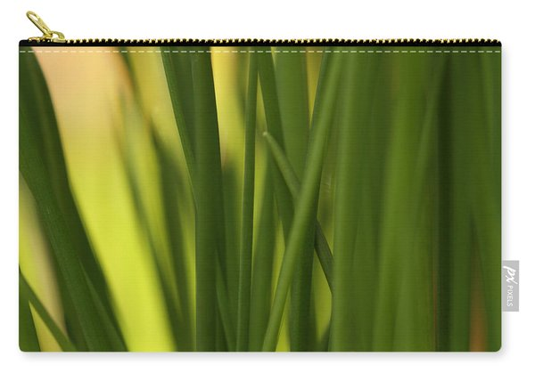 Sunbathing Chives Carry-all Pouch