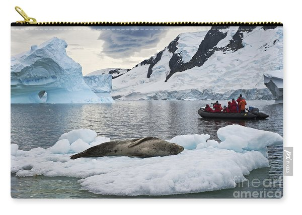 Antarctic Serenity... Carry-all Pouch