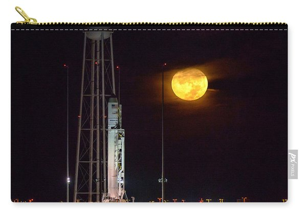 Antares Rocket At Launch Pad Carry-all Pouch