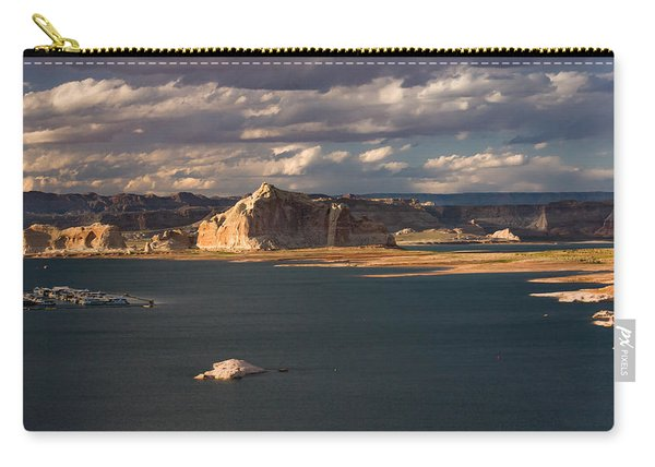 Antelope Island At Sunset Carry-all Pouch