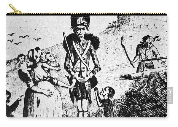 Anti-war Cartoon, 1775 Carry-all Pouch