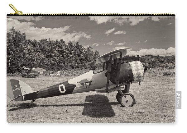 Antique 1917 Nieuport 28c.1  Biplane Carry-all Pouch