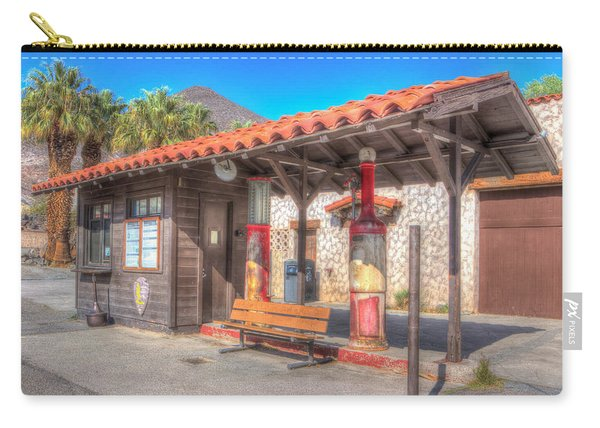 Antique Gas Station Carry-all Pouch