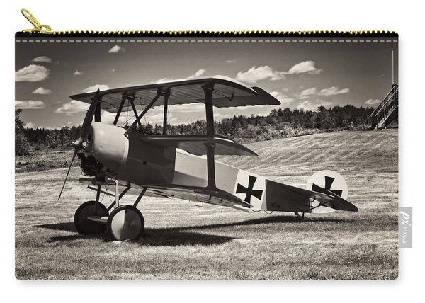 Antique Red Barron Fokker Dr.1 Triplane Carry-all Pouch