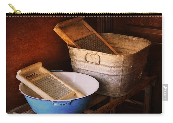 Antique Wash Tubs Carry-all Pouch