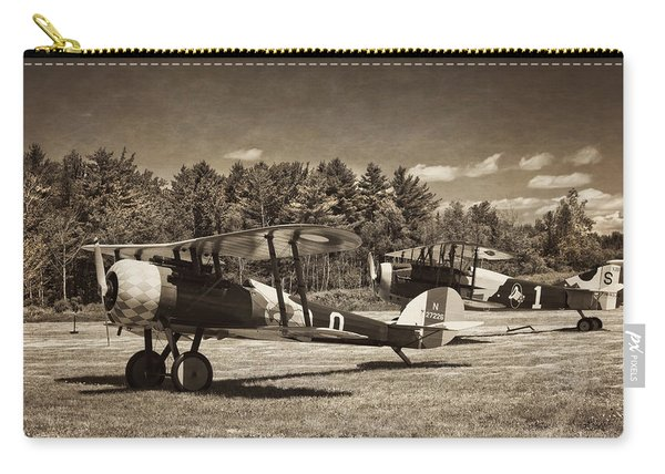 Antque 1917 Nieuport 28c.1 Fighter Plane Carry-all Pouch