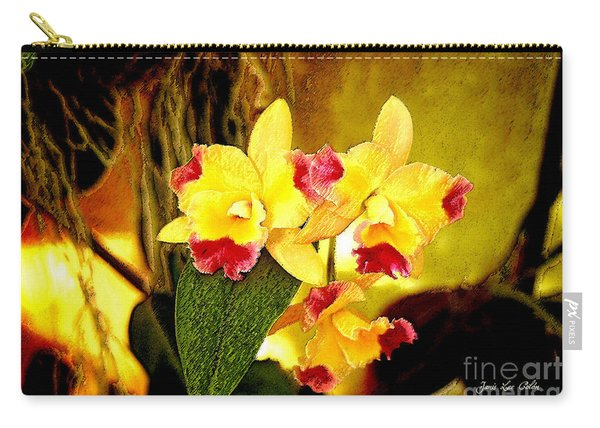 Aos Yellow Orchid 1 Carry-all Pouch