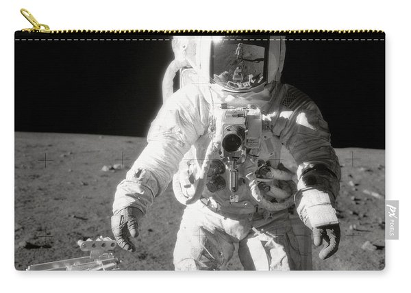 Apollo 12 Moonwalk - 1969 Carry-all Pouch