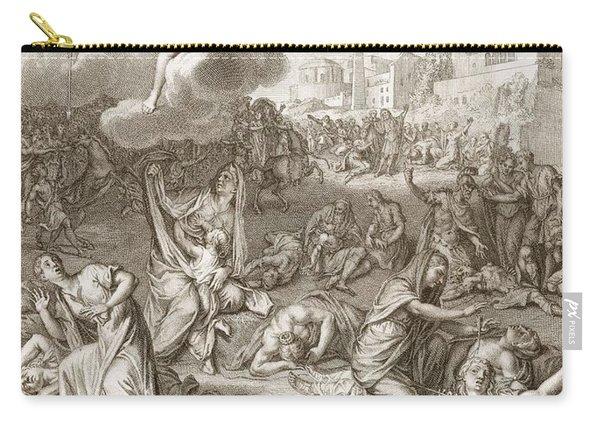 Apollo And Diana Kill Niobe's Children Carry-all Pouch