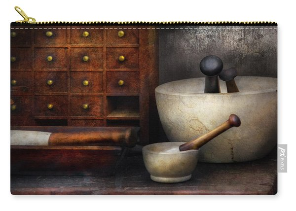 Apothecary - Pestle And Drawers Carry-all Pouch