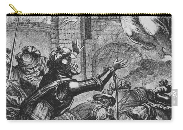 Apparition Of St Louis To Henri Iv Carry-all Pouch